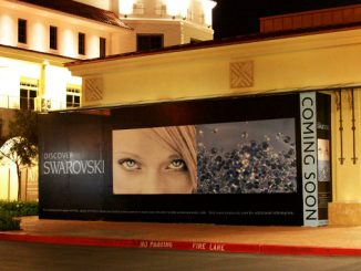 A Large Outdoor Sign Display in Las Vegas
